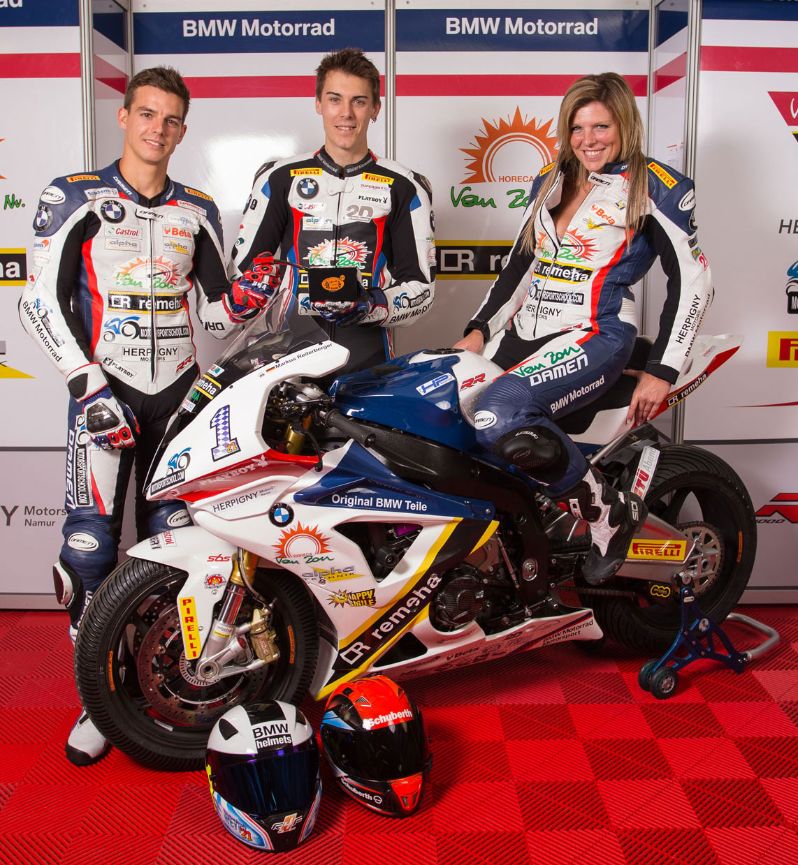 Van Zon Remeha BMW Superbike Teams, IDM Siegerteam 2013